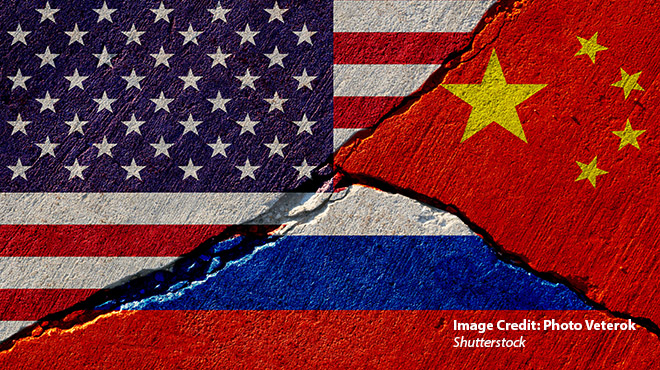 The Enemy of My Enemy is My Friend: Russia-China-U.S. Relations